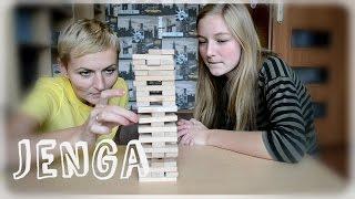 JENGA challenge z Mamą i Córką