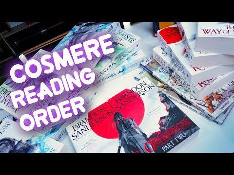 Brandon Sanderson Cosmere Reading Order