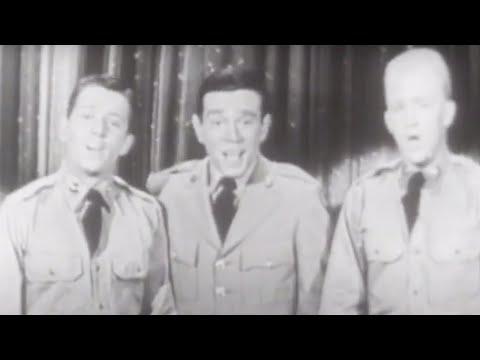 "Charlie Applewhite, Richard Hayes & Gary Crosby ""This Is The Army, Mr. Jones"" | The Ed Sullivan Show"