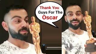 Virat Kohli Wins Oscar For Best Non Acting