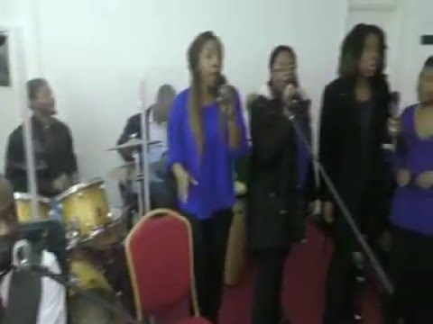 Apostle Gwen - Rich United - Elshaddai Trumpet call prayer Missions - January 2016