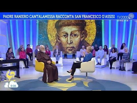 Padre Raniero Cantalamessa racconta San Francesco d'Assisi
