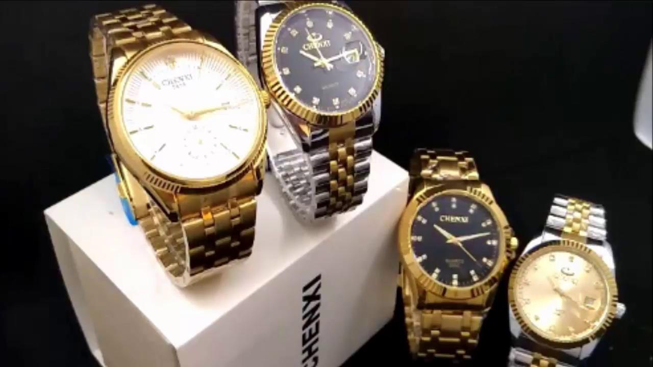IWC Schaffhausen. Классические золотые мужские часы. - YouTube