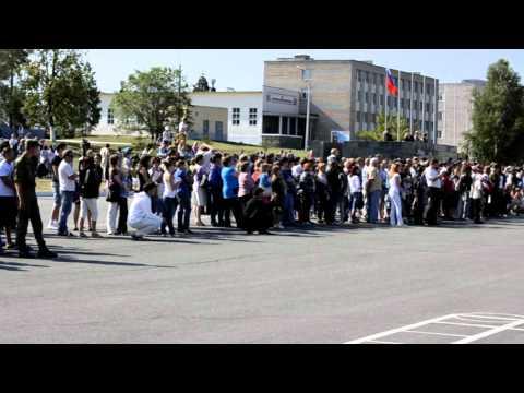 присяга в Чебаркульском гарнизоне 2012
