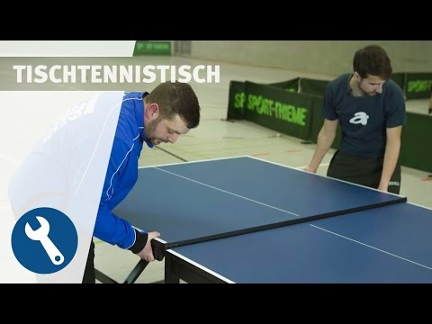 "Video: Sport-Thieme® Bordtennis-bord ""Liga"""