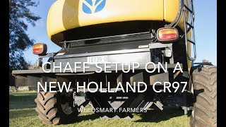 Video WS NewHolland header and chaff line setup download MP3, 3GP, MP4, WEBM, AVI, FLV November 2017