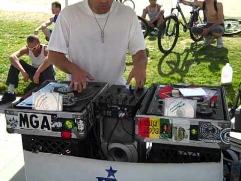 DJ Hymn  @ Venice Beach 3/13/2011