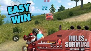 Win With This Strategy! Rules of Survival