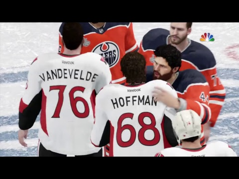 NHL 18 Stanley Cup Final: Edmonton Oilers Vs Ottawa Senators Game 7