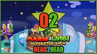 WE GOT OBLITERATED! 3DS VS GBA Mario and Luigi Superstar Saga Head 2 Head Part 2 - DarkLightBros