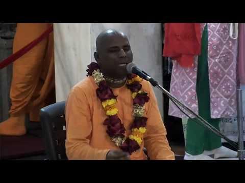 Hanuman Prabhu Evening Bhagavad Gita Class | 3rd Jan 2018 | ISKCON Juhu