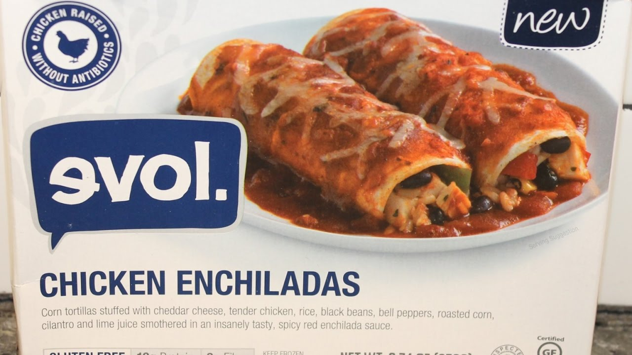 Chicken Enchiladas Review Youtube