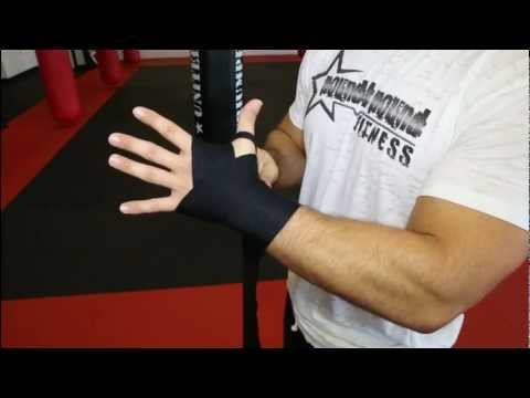 Hand Wrapping Instructions – How to wrap your hands for boxing and kickboxing