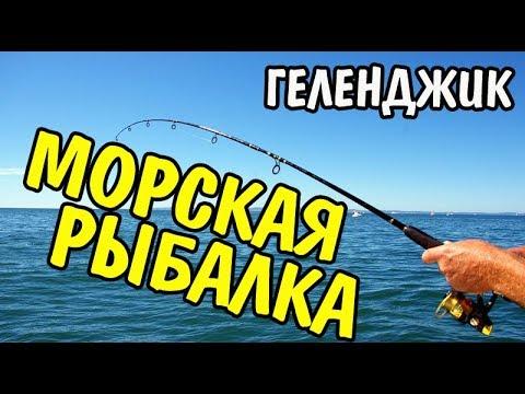 Видео рыбалка в геленджике