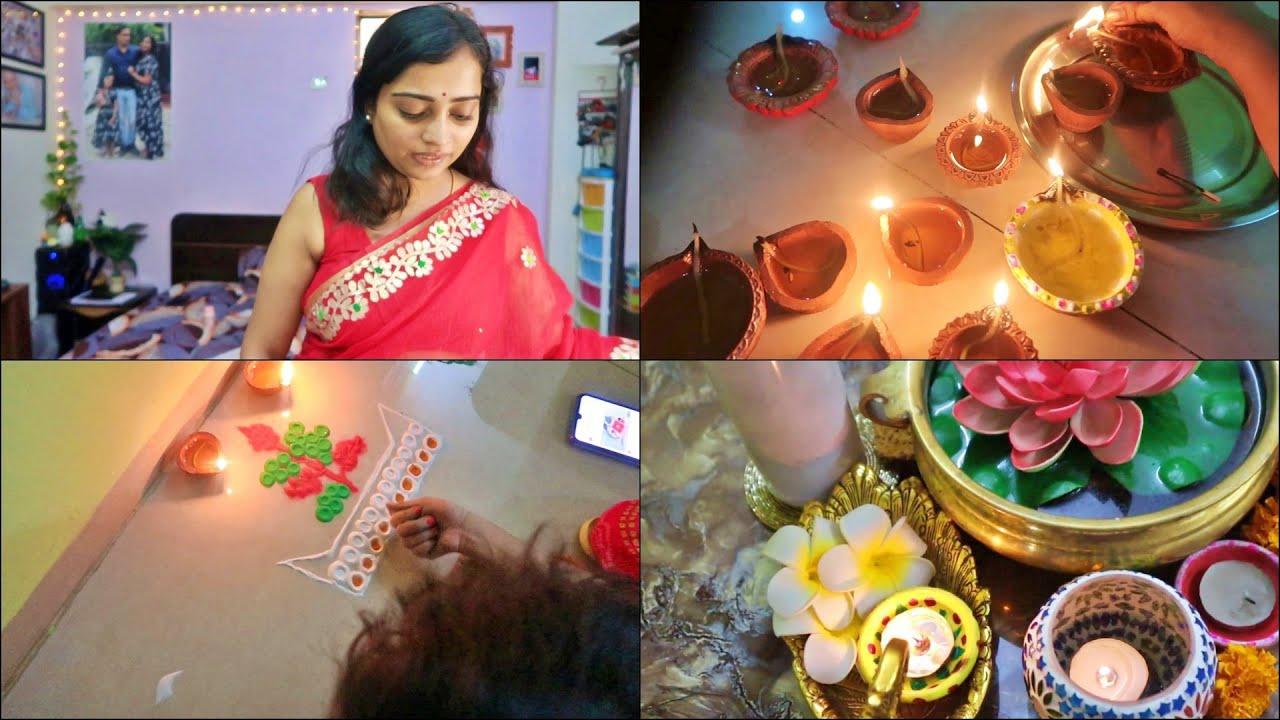 Dekho hamare yaha Diwali doobara kyu   Indian Mom On Duty VLOG