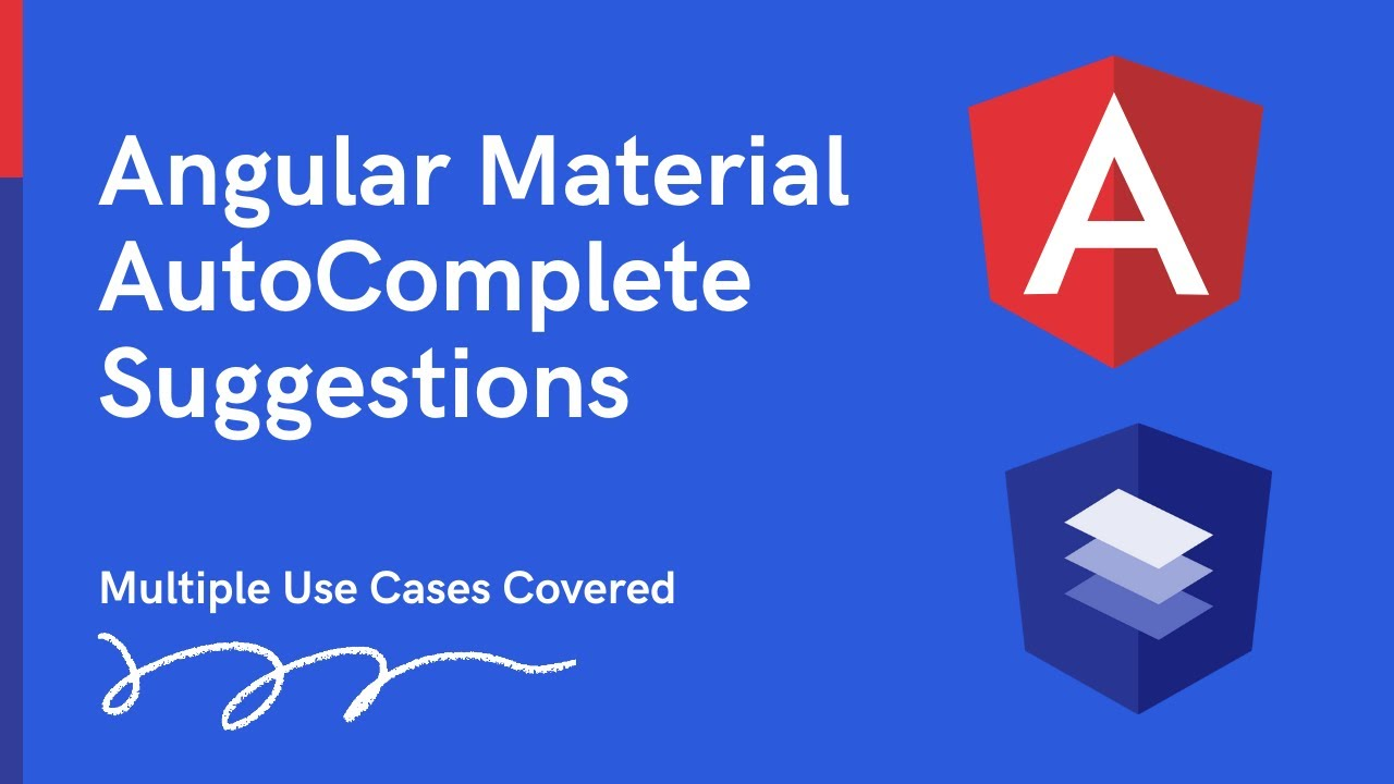 Angular Material Autocomplete - Multiple Use Cases covered