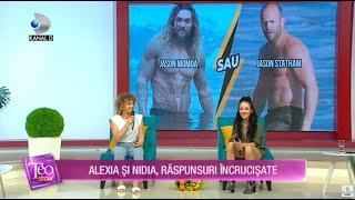 Teo Show - Alexia si Nidia, provocate la un nou joc: