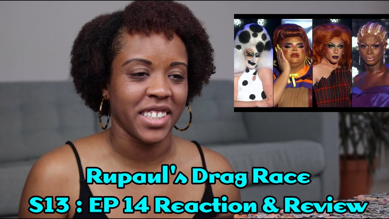 """RuPaul's Drag Race S13 : Ep 14 """"Gettin' Lucky!"""" Reaction & Review!"""