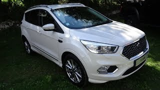 2018 Ford Kuga Vignale 2.0 TDCI 150 Powershift 4x4 - Exterior and Interior - Foire 4x4 Valloire 2018