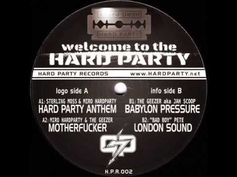 Hard Party Records 2 - Bad Boy Pete - London Sound