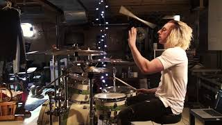 wyatt stav wage war dont let me fade away drum cover