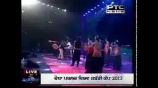 WORLD KABBADI CUP 2013 FINAL  INCIDENT MUST WATCH PUNJABI