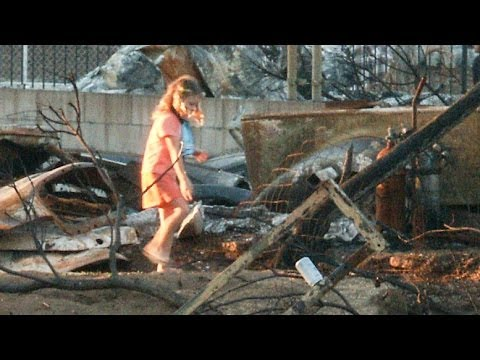 Largest California Wildfire: Close-up Views of Destroyed Homes