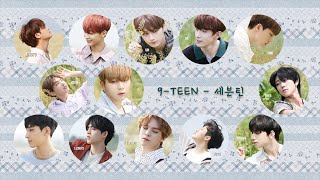 Gambar cover 【認聲中字】SEVENTEEN (세븐틴) - 9-TEEN (A-TEEN2 Part.2) [Chinese Sub]