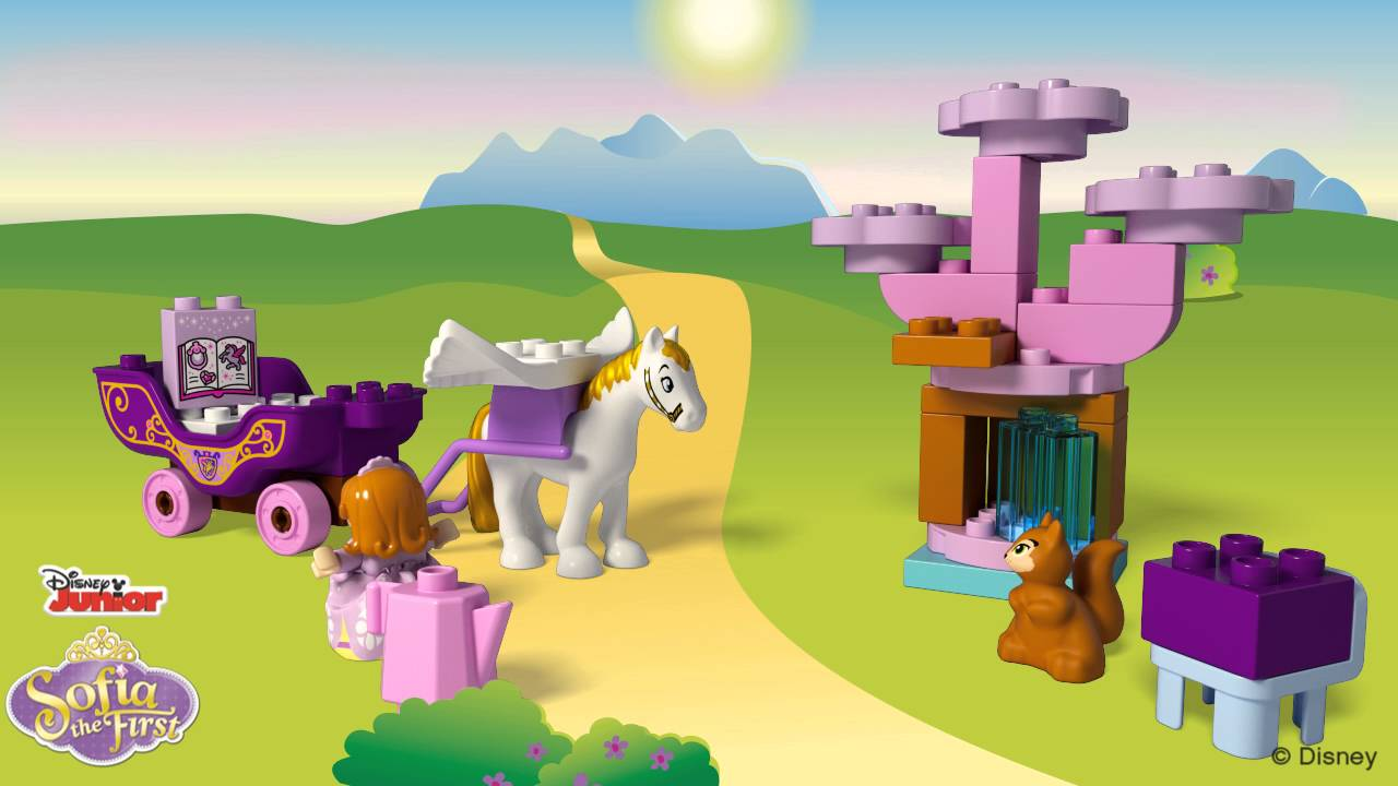 Sofia the First Magical Carriage - LEGO DUPLO - 10822 - Product Animation