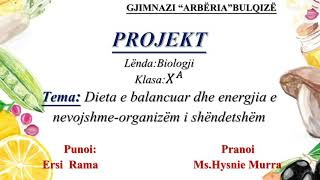 dieta e balancuar)