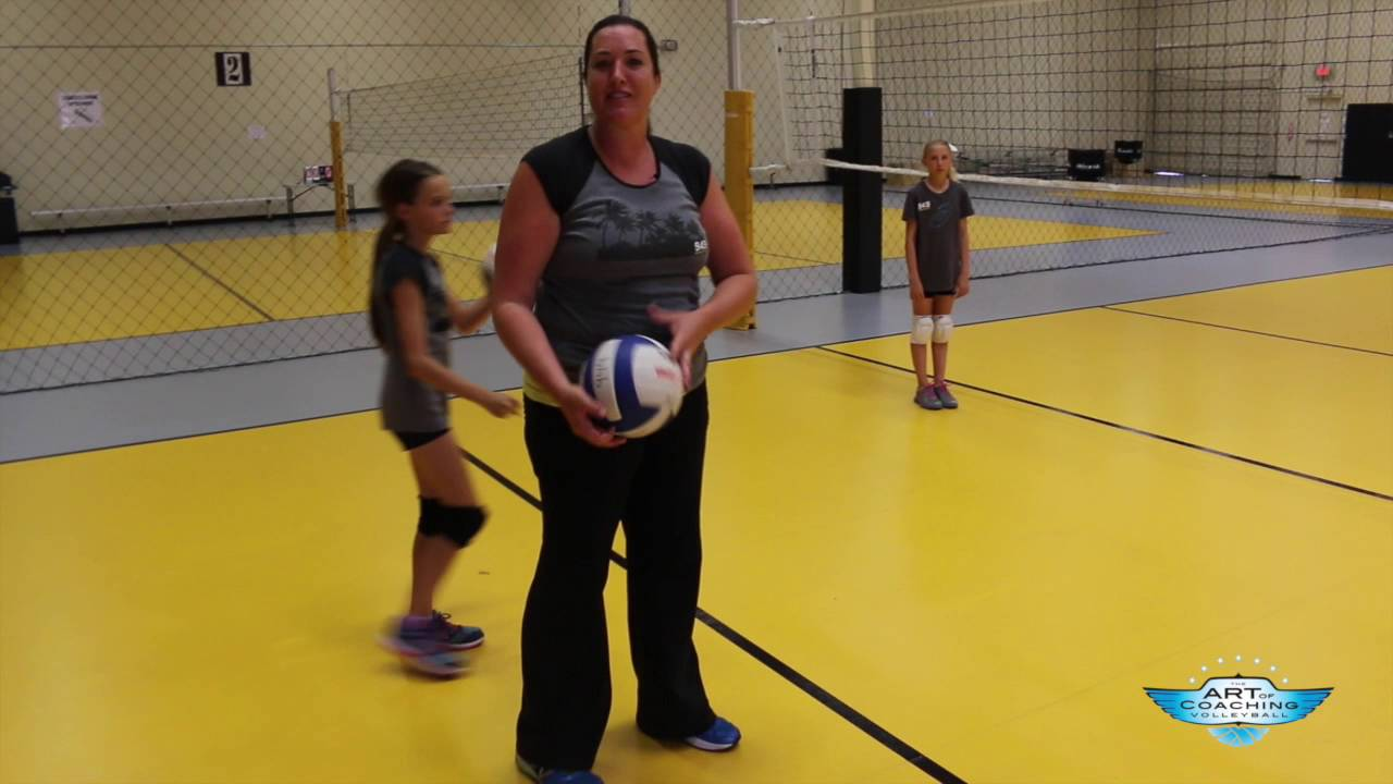 4th 8th Grade Volleyball Overhand Serving Youtube Volleyball Drills For Beginners Coaching Volleyball Basketball Workouts