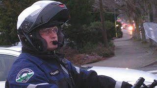 Police Misconduct BACKFIRES! cop PANICS!