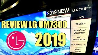Download Video NEW LG UHD 2019 UM7300 ThinQ AI   REVIEW - PICTURE TEST MP3 3GP MP4