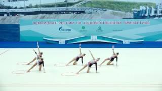 Команда Владимирской области - 5 обручей(финалы ОВ)