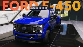 FORD F450 SUPER DUTY 1750 HP BUILD - Forza Horizon 5