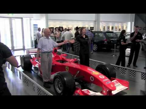Bridgestone Australia  provides Ferrari F1 Show Car to National Motor Museum