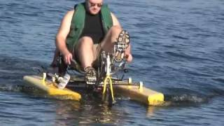Amphibious Recumbent Tricycle (amphibike) MK3