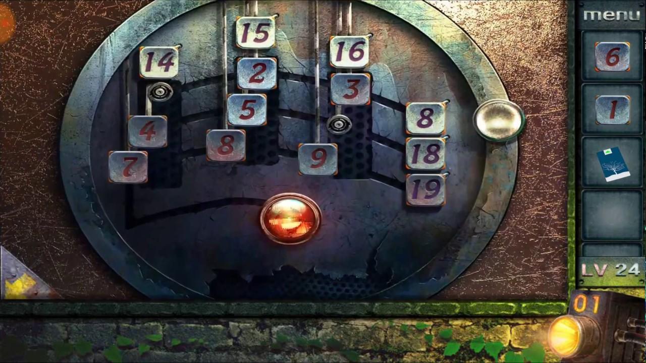 Escape Game 50 Rooms 2 Level 24 Walkthrough Youtube