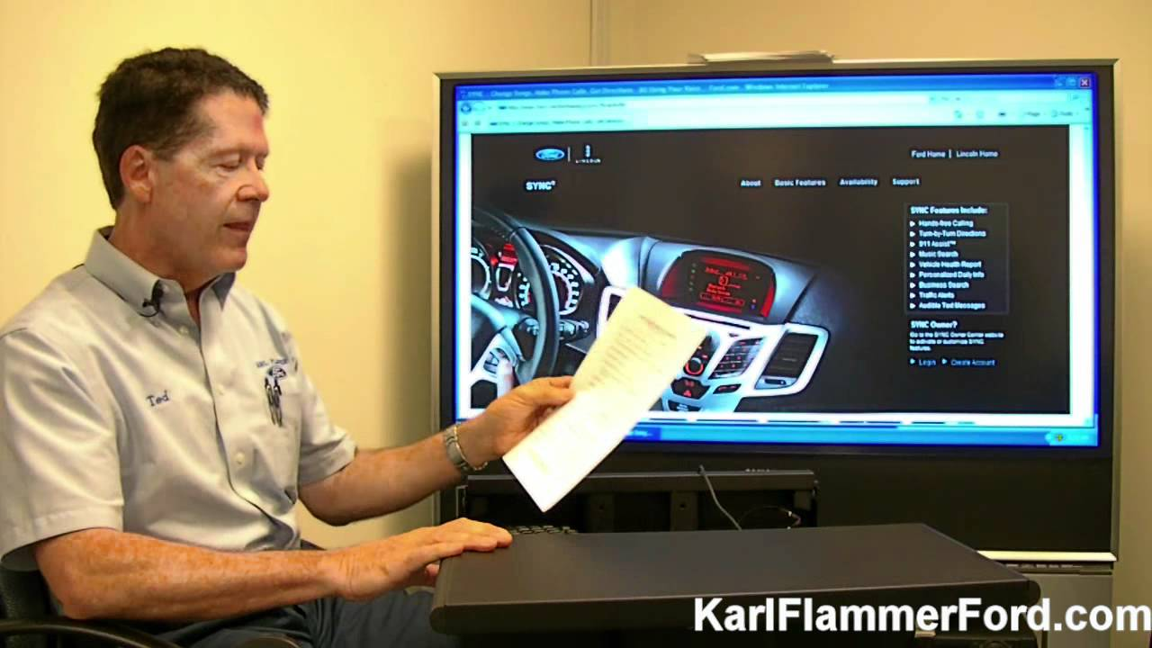 how to use ford sync introduction youtube. Black Bedroom Furniture Sets. Home Design Ideas