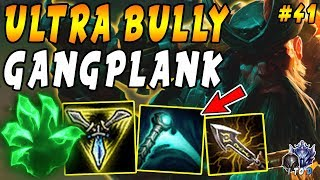 Tilt Your Enemies as Lane Bully Gangplank with Trinity Force and Grasp! | Iron 4 to Diamond Ep 41