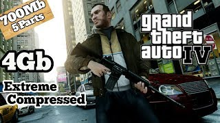 [4GB]How to download Gta 4 For pc  Gta 4 for pc in parts