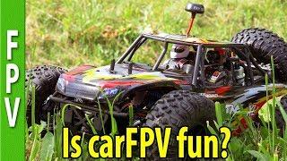 VRX Octane FPV Car Bashing