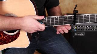 Bruno Mars - Locked out of Heaven - Easy Beginner Songs on Acoustic Guitar - Lesson how to play