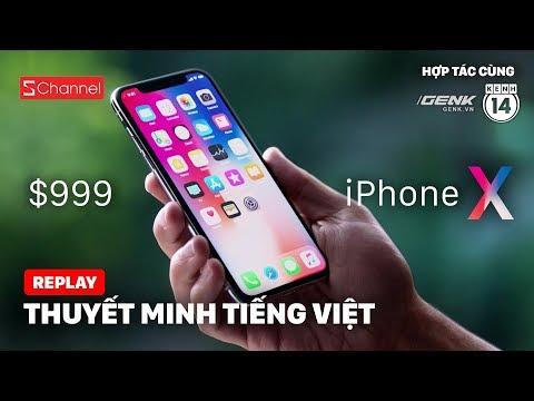 THUYẾT MINH TIẾNG VIỆT - Sự kiện ra mắt iPhone 8