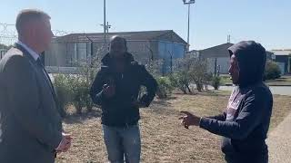 BREAKING UK Activists Confront and Deter Illegal Migrants in Calais!