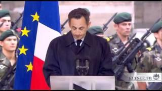 Cérémonie d'hommage national rendu aux soldats morts en Afghanistan