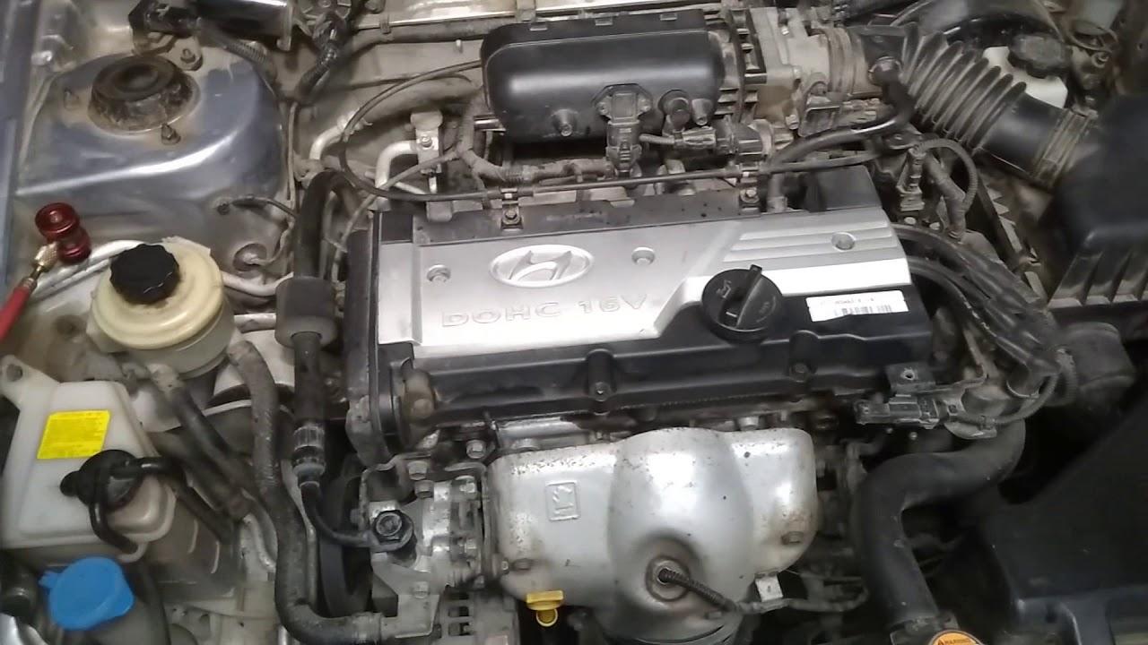 Заклинил компрессор кондиционера Hyundai Accent