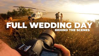 Full Wedding Photography Day IN A HELICOPTER Nikon D850 and Natural Light