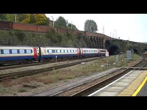 Trains at Sheffield 19/10/13