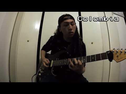 International Soul Guitar Jam  | Greece - Italy - Germany - Colombia - Venezuela